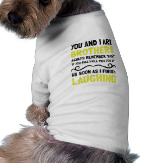 Brothers Laughing Dog T-shirt