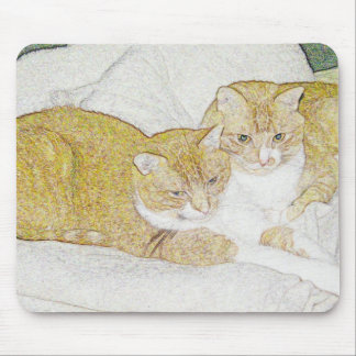 Brothers Mouse Pad