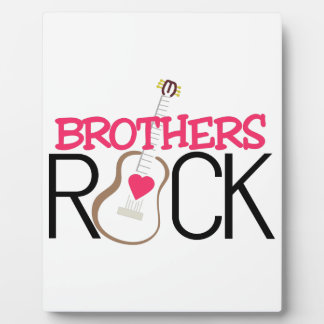 Brothers Rock Photo Plaques
