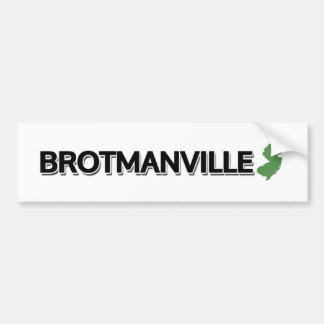 Brotmanville New Jersey Bumper Stickers