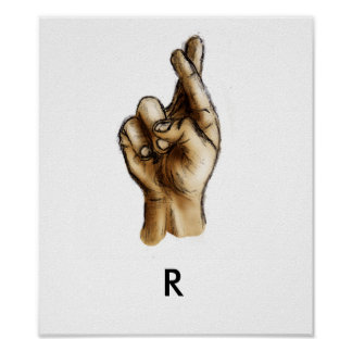 Brought to You by the Letter R Print