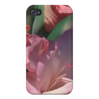 Brown About to flower flowers iPhone 4 Case