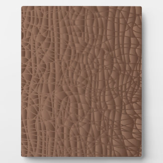Brown Abstract Background Display Plaques