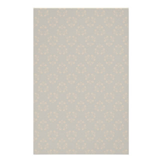 Brown abstract pattern customised stationery