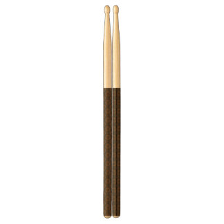 Brown abstract pattern drumsticks