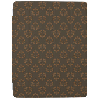 Brown abstract pattern iPad cover