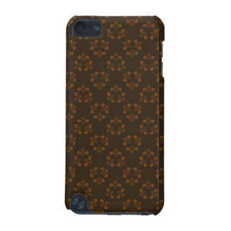 Brown abstract pattern iPod touch 5G cases