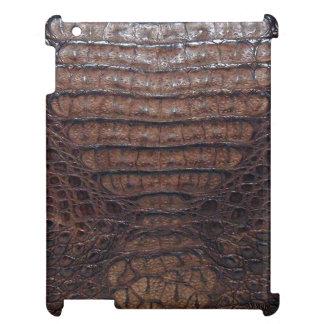 Brown Alligator Skin Print mini iPad Case