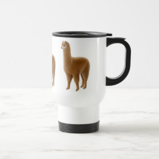 Brown Alpaca Travel Mug