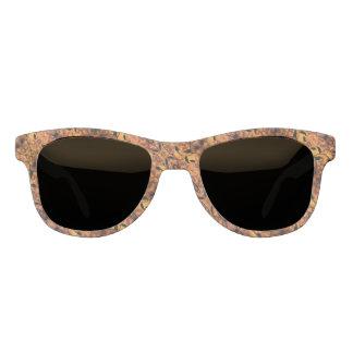 Brown And Black Autumn Design Sunglasses