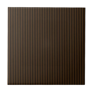 Brown and Black Stripes Tile