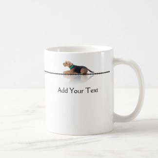 Brown and Black Welsh Terrier Mug