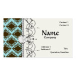 brown and blue diamond lovely damask pattern
