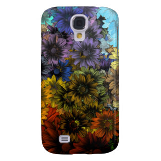 Brown and blue galaxy s4 case