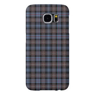 Brown and Blue Mackenzie Clan Reproduction Plaid Samsung Galaxy S6 Cases