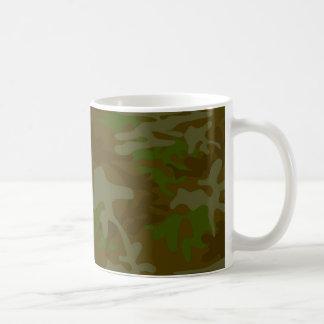 Brown And Green Camo Mug