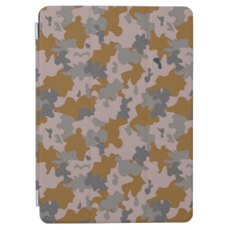 Brown and Grey Camouflage iPad Air Cover