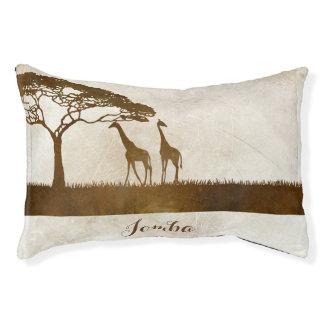 Brown and Ivory African Giraffe Wedding