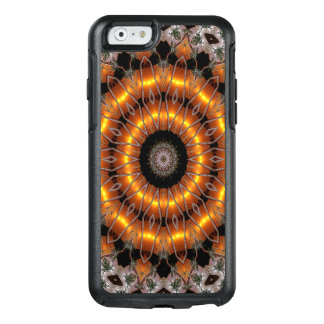 Brown And Purple Abstract Concentric Pattern OtterBox iPhone 6/6s Case
