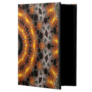 Brown And Purple Abstract Concentric Pattern Powis iPad Air 2 Case