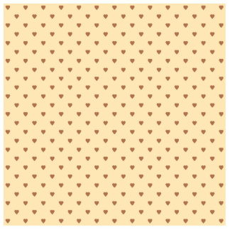 Brown and tan - beige heart pattern. Custom Photo Cutout