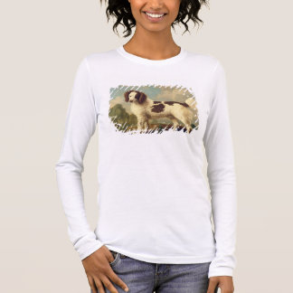 Brown and White Norfolk or Water Spaniel, 1778 (oi Long Sleeve T-Shirt