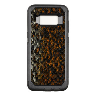 Brown Animal Pebbles OtterBox Commuter Samsung Galaxy S8 Case