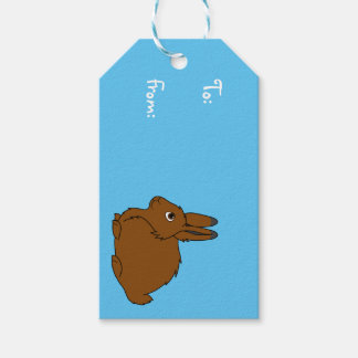 Brown Arctic Hare Gift Tags