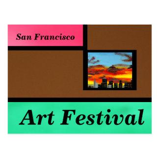 Brown Art Festival Postcard