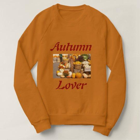 Brown Autumn Lover's Woman Sweatshirt