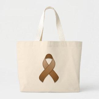 Brown Awareness Ribbon Bag