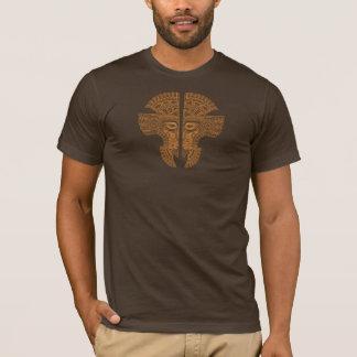 Brown Aztec Twins T-Shirt