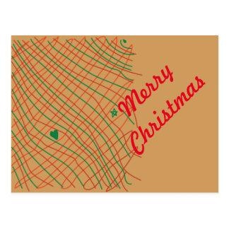 Brown Bag Scribbles Postcard