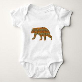 Brown Bear Artistic background by NavinJOSHI NVN49 Infant Creeper