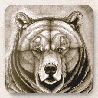 Brown Bear Drink Coasters
