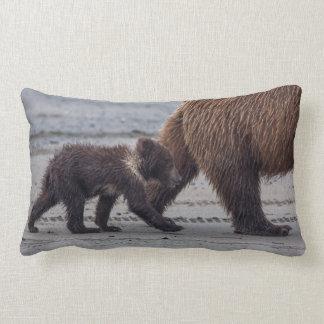 Brown Bear cub Cushions
