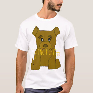 Brown Bear T-Shirt Template