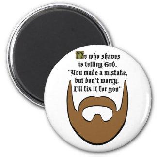 brown beard magnet