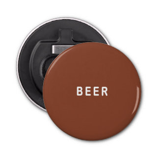 Brown Beer Bottle Opener