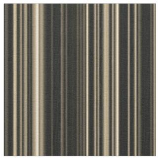 Brown Beige taupe retro stripe  fabric
