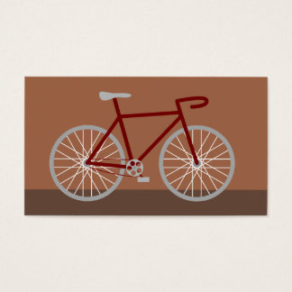 Brown Bicycle Business Card