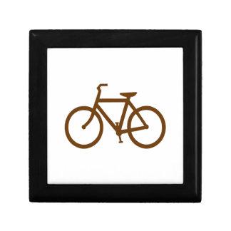 Brown Bike Gift Box