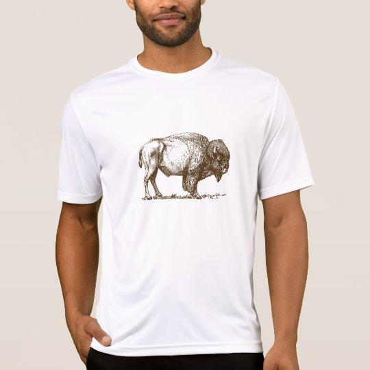 Brown Bison Buffalo T-Shirt