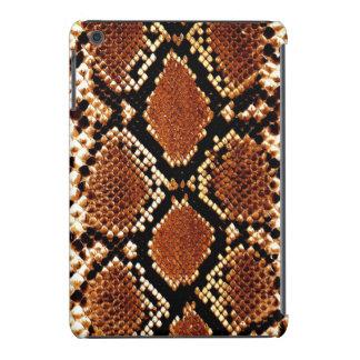 Brown black snake skin effect iPad mini Retina iPad Mini Cases