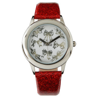 Brown bow watch