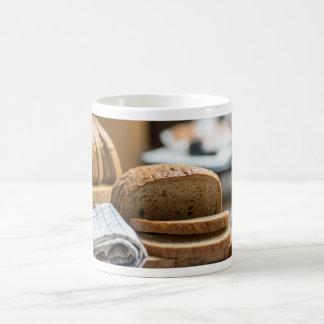 Brown bread coffee mug