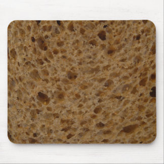 Brown bread mouse mat