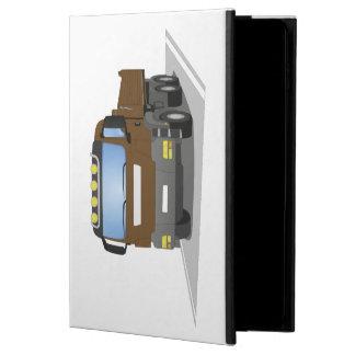 brown building sites truck powis iPad air 2 case