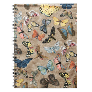 Brown Butterfly Notebook