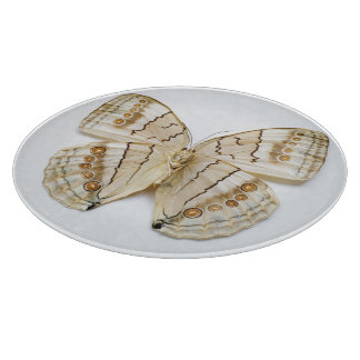 Brown Butterfly, overhead view Cutting Board